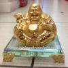 พระสังกัจจายน์ชูก้อนทองบนฐานแก้ว(3)