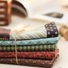 ผ้าคอตตอนเกาหลีจัดเซ็ทลายวินเทจ 1/4 หลา 5 ชิ้น