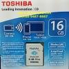 Toshiba FlashAir 16GB Class10 (SD Wifi)