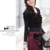 Tian-Mu เสื้อแฟชั่นแขนยาวผ้ายืด