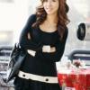 (พร้อมส่ง)เดรส แฟชั่นเกาหลี อินเทรนด์ ผ้ายืดสีดำ