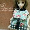"AprilBDMSD3 : กระเป๋า สำหรับ ตุ๊กตา 16 "" (MSD,AMT,NANCY doll 16 "")"" Pimwaradda's Craft """