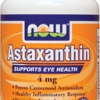 Now Foods - Astaxanthin 4 mg 60 Softgels