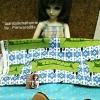 SEP58.Pack11 : ผ้าจัดเซตผ้าUSA+ ผ้าจากในไทยลายจุด ขนาดผ้าแต่ละชิ้น25-27x45-50cm