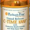 Puritan's Pride - Vitamin C-1000 mg with Rose Hips Time Release 1000 mg 60 Caplets