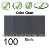 100 - Black