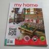 my home ฉบับที่ 057 กุมภาพันธ์ 2558 ไอเดียแต่งบ้านสไตล์คาเฟ่ Steal caf'e Style***สินค้าหมด***