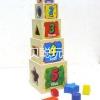 หอคอยเรียงลำดับ + หยอดรูปทรง (Stacking Tower Box)