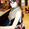 (พร้อมส่ง)กระเป๋าสะพาย ใบเล็ก น่ารัก สีดำลายดอก สไตล์วินเทจ แบรนด์ maomao