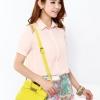 (พร้อมส่ง)กระเป๋าหนัง ไฮโซ ไซส์มินิ สีเหลือง น่ารัก พกพาง่าย เก๋ไก๋สุดๆ กระเป๋าแฟชั่น แบรนด์ Axixi
