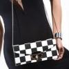 (พร้อมส่ง)Cliché Deluxe กระเป๋าคลัตช์สุดเก๋ สี ขาว-ดำ