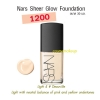 Nars Sheer Glow Foundation # DeauVille (Light 4) ขนาดขายจริง 30 มล. พร้อมกล่อง เคาเตอร์ไทย