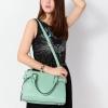 (พร้อมส่ง)กระเป๋าแฟชั่น หนัง ทรงสวย สุดฮิต สีเขียวมิ้นต์ แบรนด์ Axixi ของแท้ 100%