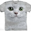 เสื้อยืด3Dสุดแนว(GREEN EYES FACE T-SHIRT)