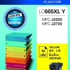 BROTHER INK CARTRIDGE LC-665XLY สีเหลือง