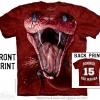 เสื้อยืด3Dสุดแนว(RED MAMBA: BONNER EDITION T-SHIRT)