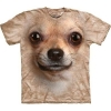 The Mountain Big Face Chihuahua Dog T-Shirts