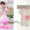 size 11 >>สีขาว> เสื้อประดับลูกไม้น่ารักสีชมพู ตามแบบค่ะ(เช็ค size หน้าแรกนะคะ)