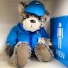 """""""Teddy sport"""" สวมชุดแจ็คเกต BMW เหมาะมาตั้งในรถหรูคู่เท่ห์ หรือในห้องนอน art ๆ 599.- ปกติ 950.- (40cm*20cm) ขนนุ่มมั่กๆ จัดส่งทั่วประเทศ มีไม่กี่ชิ้น"""