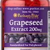 Puritan's Pride - Grapeseed Extract 200 mg 120 Capsules