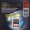 Sandisk SD ExtremePro 32GB 280MB/s (1867X) (SIS/Synnex)