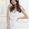 party dress457สีขาว