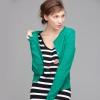 Tamstyle มี แฟชั่นเสื้อคลุมไหมพรมสีเขียว มากฝากกันจ้าาา