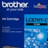 BROTHER INK CARTRIDGE LC-67HYC สีฟ้า