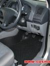 พรมปูพื้นรถยนต์ VIGO SMART CAB  ลายกระดุม เต็มคัน
