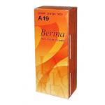 Berina เบอริน่า ครีมย้อมผม A19 สีส้มทอง