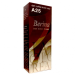 Berina เบอริน่า ครีมย้อมผม A25 สีกาแฟเข้ม