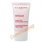 คลาแร็งส์ CLARINS White Plus total luminerscent Smoothing brightening NIGHT CREAM ขนาด 15 มล