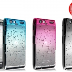 เคสแข็งบางลายหยดน้ำ Motorola Razr Maxx รุ่น Imak RainDrop