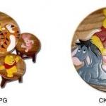 ลาย Pooh CK00ฺ_ โต๊ะ ขนาด 18*20 นิ้ว จำนวน 1 ตัว เก้าอี้ ขนาด 10*10 นิ้ว จำนวน 4 ตัว ผลิตจากไม้จามจุรีแท้ ไม่ใช่ไม้อัด รับน้ำหนักได้ถึง 70 กก.