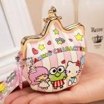 [Preorder] กระเป๋าใส่เหรียญ Hello Kitty แบบที่ 2 (2 ใบ/แพ็ค คละแบบได้) Korean Japanese hello kitty purse Korean cute cartoon fashion ladies bag change clip coins