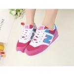 [Preorder] รองเท้าผ้าใบ N สีชมพูขาว Korean wild shoes running shoes breathable couple N Aberdeen male Korean fashion sneakers shoes singles shoes N word