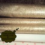 FB2 : ผ้ากากเพชรสีทอง ขนาด 1/4 m (55 X50 cm)