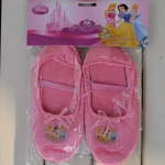 Disney Princess รองเท้าบัลเล่ต์สีชมพูหวาน