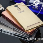 Luxury Mirror Bumper สำหรับ Lenovo Vibe K5 Note