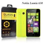 ฟิล์มกระจกนิรภัย Tempered Glass สำหรับ Microsoft Lumia 630