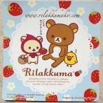 ป้าย สูญญากาศ สำหรับติด พรบ. ลาย Rilakkuma #7 (สั่งซื้อ6แผ่น เหลือแผ่นละ 40บาท)