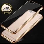 เคสบัมเปอร์ยางนิ่ม ขอบสีโครเมี่ยม iPhone 5S / 5Se