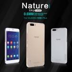 เคสยางนิ่ม บางเฉียบ Huawei Honor 6 Plus เกรดพรีเมี่ยม ยี่ห้อ Nillkin รุ่น Nature TPU Case