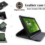 เคสหนัง ฝาพับตั้งได้ Acer Iconia A500 / A501