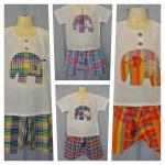 ชุดเด็กไทย เสื้อเด็กไทย + กางเกงเด็กไทย 2 ชิ้น ลายช้าง คละสีแต่แบบเหมือนกันค่ะ เลือกสีไม่ได้นะคะ (ดูภาพแต่ละแบบชัด ๆ ด้านใน) (ราคานี้เป็นราคา 1 ชุด)