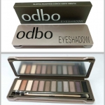 Palette eyeshadow Odbo 12 สี