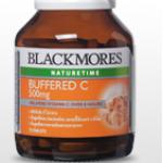 Blackmores Buffered C 500 mg. 31 tablets [ขวดเล็ก] แบลคมอร์ส บัฟเฟอร์ ซี 500 มก. 31 เม็ด [ขวดเล็ก]