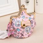 [Preorder] กระเป๋าใส่เหรียญ Hello Kitty แบบที่ 13 (2 ใบ/แพ็ค คละแบบได้) Korean Japanese hello kitty purse Korean cute cartoon fashion ladies bag change clip coins