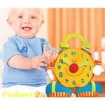 Big Ben Activity Clock นาฬิกายักษ์ขวัญใจเด็ก ๆ ดึงแขนแล้วสั่นได้ เด็ก ๆจะขำเลยค่ะ มีกระจกด้านหลัง เล่นได้ยันโต สอนตัวเลข สอนเวลาก็ได้ด้วย