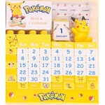 [Preorder] ปฏิทินตั้งโต๊ะเก๋ๆ ลายการ์ตูนยอดฮิต ลายการ์ตูน Pokemon Genuine Pokemon small office desk ornaments Events Calendar